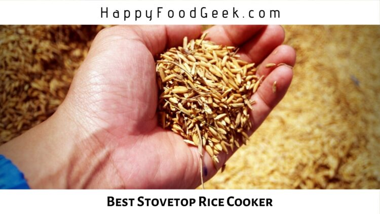 stovetop rice cooker