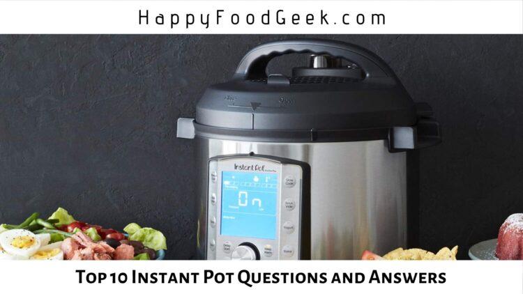 instant pot questions