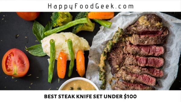 best steak knife set under 100