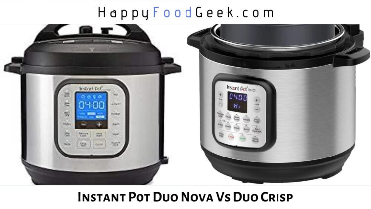 instant pot duo nova vs duo crisp