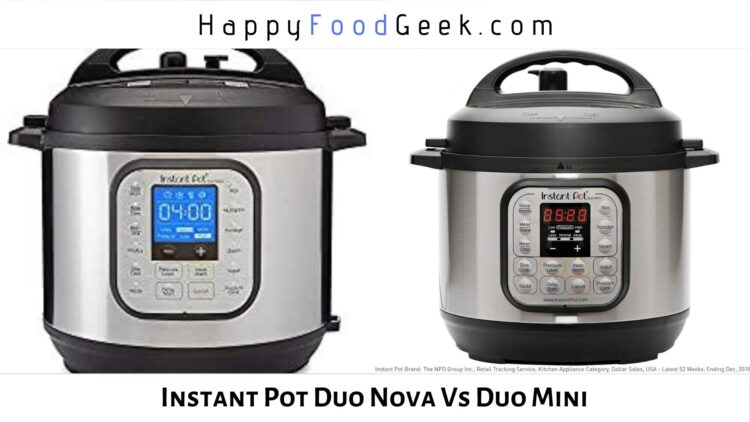 instant pot duo nova vs mini duo