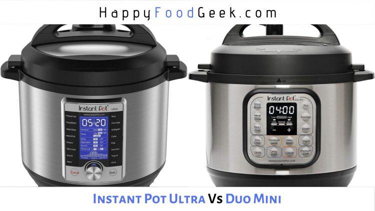 instant pot ultra vs duo mini